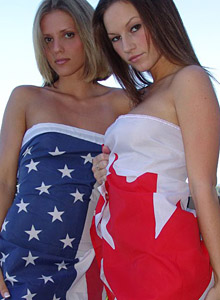 Kate & Karen are patriotic from Karen Loves Kate