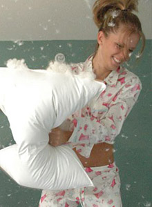 Pillow Fight from Karen Loves Kate