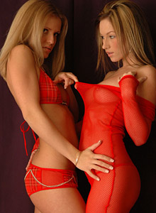Two Teens feeling each other up! from Karen Loves Kate